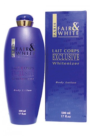 [Fair & White-box#29] Exclusive Body Lotion (500ml)