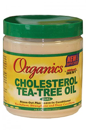 [Africa's Best-box#26] Organics Cholesterol Tea-Tree Oil (15 oz)