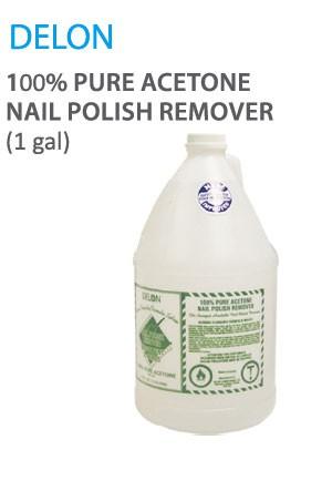 [Delon-box#4] 100% Aceton Nail Polish Remover (3.75L/1Gal)