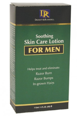 [D & R-box#23] Soothing Skin Care Lotion for Men (4oz)