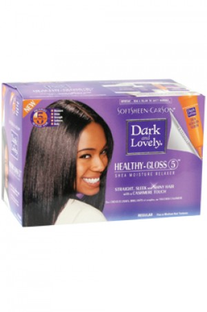 [Dark & Lovely-box#11] Healthy Gloss 5 Shea Moisture Relaxer - Regular