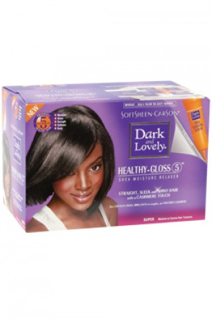 [Dark & Lovely-box#12] Healthy Gloss 5 Shea Moisture Relaxer - Super