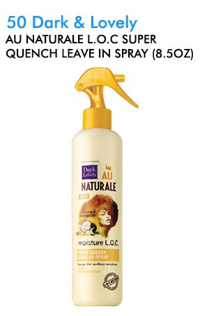 [Dark & Lovely-box#50]  Au Naturale L.O.C Super Quench Leave In Spray (8.5oz)