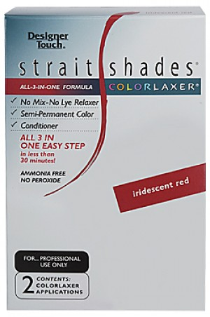 [Designer Touch-box#25] Straight Shades Colorlaxer (2app)-Iridescent Red