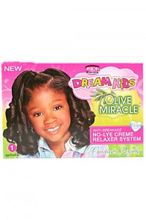 [Dream Kids-box#2] Olive Miracle Anti-Breakage No-Lye Relaxer - Regular