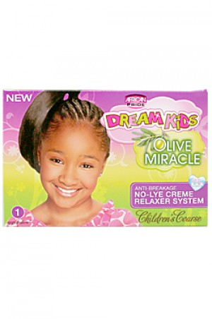 [Dream Kids-box#3] Olive Miracle Anti-Breakage No-Lye Relaxer - Coarse