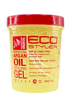 [Eco Styler-box#38] Gel -Moroccan Argan Oil (32oz)
