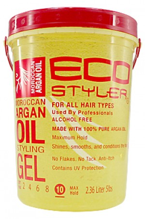 [Eco Styler-box#39] Gel -Moroccan Argan Oil (5lbs)