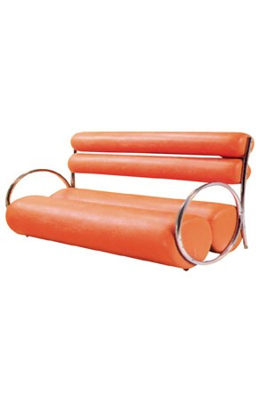 WAITING SOFA F122 -Orange