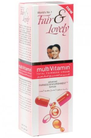 [Fair & Lovely-box#5] Multi Vitamin Total Fairness Cream (50g)