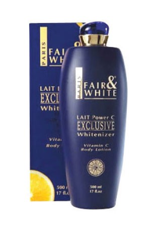 [Fair & White-box#30] Exclusive Body Lotion w/ Vitamin C (500 ml)