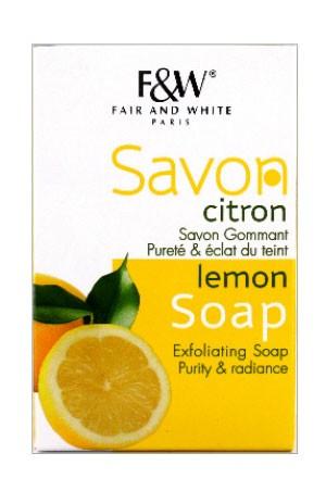 [Fair & White-box#57] Lemon Soap (7 oz)