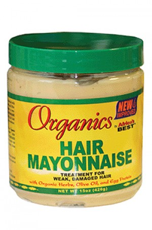 [Africa's Best-box#22] Organics Hair Mayonnaise (15 oz)