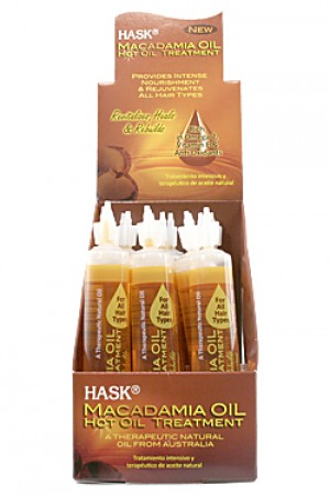 [Hask-box#27] Hot Oil Treatment - Macadamia (1oz/18pc/ds)