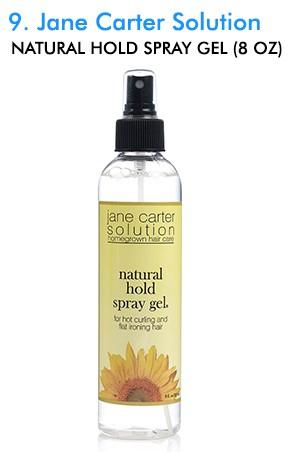 [Jane Carter Solution-box#9] Natural Hold Spray Gel (8 oz)