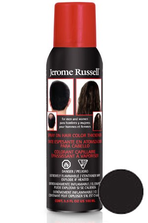 [Jerome Russell] Hair Thicker Spray #Black