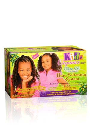 [Africa's Best-box#74] Kid's Organics Olive Oil Ultra-Gentle Hair Softening System (1 App)