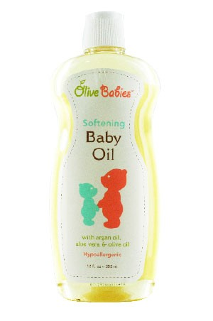 [Olive Babies-box#3] Softening Baby Oil (12 oz)