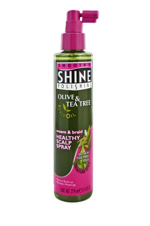 [Smooth 'n Shine-box#10] Olive & Tea Tree Healthy Scalp Spray (7.4oz)