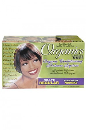 [Africa's Best-box#16] Organics Conditioning Relaxer System [Regular]