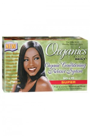 [Africa's Best-box#17] Organics Conditioning Relaxer System [Super]