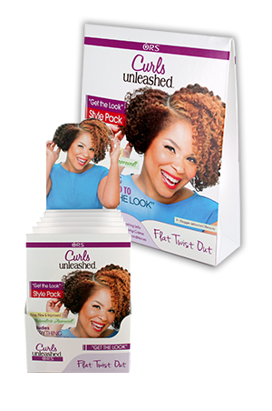 [Organic Root-box#100] Curls Unleashed Style Pack (3ea/Pack)