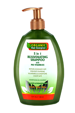[Organic Hair Energizer-box#3] 5 in 1 Shampoo (13oz)