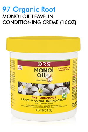 [Organic Root-box#97] Monoi Oil Leave-In Conditioning Creme (16oz)