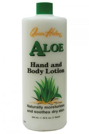 [Queen Helene-box#5] [Aloe] Hand & Body Lotion-32oz