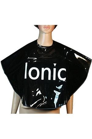 [#14] Salon Comb-Out Cape (Ionic/Black) -pc