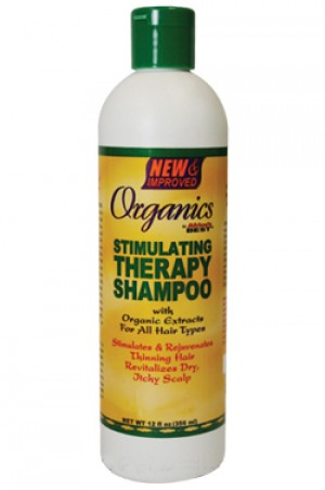 [Africa's Best-box#10] Organics Stimulating Therapy Shampoo (12 oz)