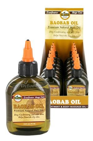 [Sunflower-box#12] Diffel Premium Natural Hair Oil (2.5oz)-Baobab