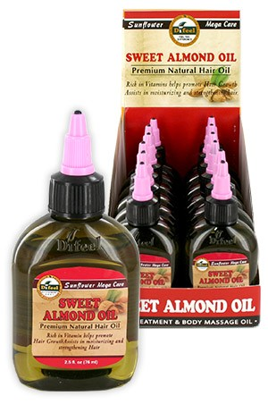 [Sunflower-box#13] Diffel Premium Natural Hair Oil (2.5oz)-Swt.Almo