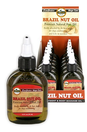 [Sunflower-box#14] Diffel Premium Natural Hair Oil (2.5oz)-Brazilia