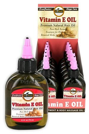 [Sunflower-box#9] Diffel Premium Natural Hair Oil (2.5oz)-Vitamin E