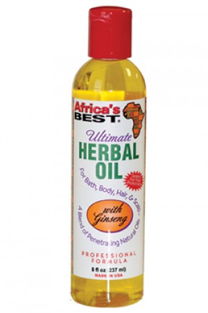[Africa's Best-box#12] Ultimate Herbal Oil (8 oz)