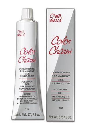 [Wella-box#4] Color Charm Conditioning Permanent Gel Hair color-2oz