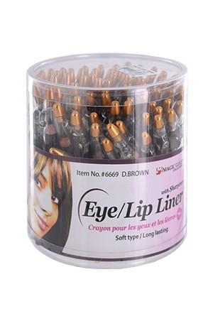 [Magic Gold-Box#6668] Lip & Eye Liner with Sharpener (72pcs/Jar)