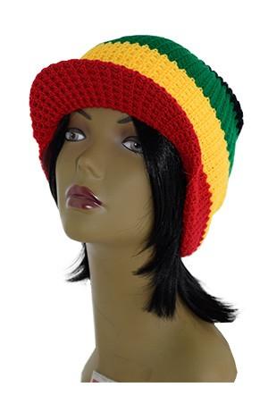 [Magic Gold-#7025] African Winter Hat W/cap -pc