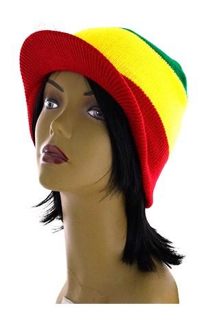 [Magic Gold-#7029] African Winter Hat W/cap -pc