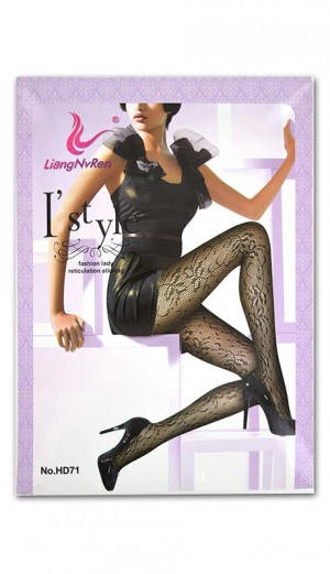 [#7464] Magic Gold NET Pantyhose -pc