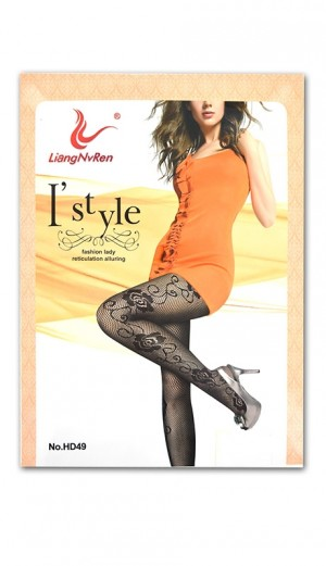 [#7468] Magic Gold NET Pantyhose -pc