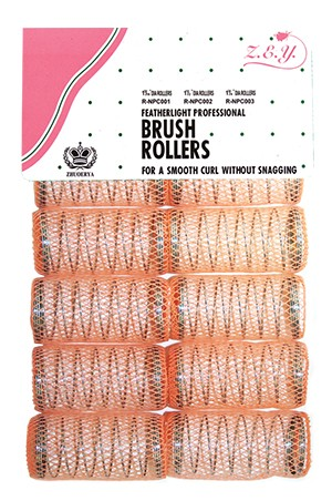 "[#9706] Wire Mesh Roller (1 1/2"") -Light Orange"