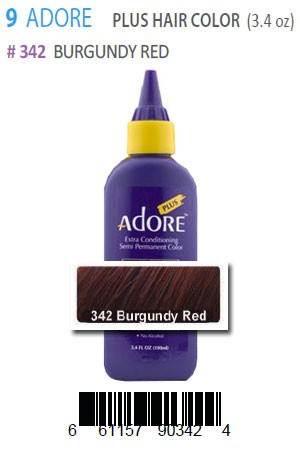 [Adore-box#9] Plus Hair Color #342 Burgundy Red