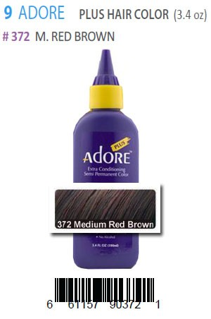 [Adore-box#9] Plus Hair Color #372 M.Red Brown