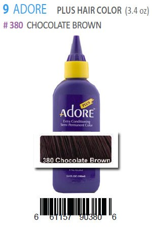 [Adore-box#9] Plus Hair Color #380 Chocolate Brown