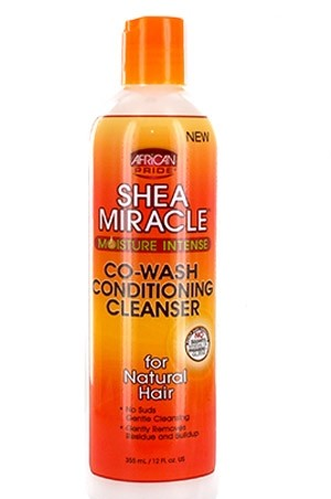 [African Pride-box#68] Shea Miracle Co-Wash Conditioning Cleanser(12 oz)