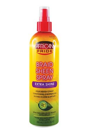 [African Pride-box#13] Braid Spray - Extra Shine(12oz)