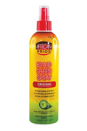 [African Pride-box#14] Braid Sheen Spray - Original/Reg (12oz)