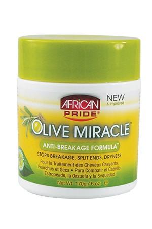 [African Pride-box#33] Olive Miracle Creme Anti-Breakage(6oz)